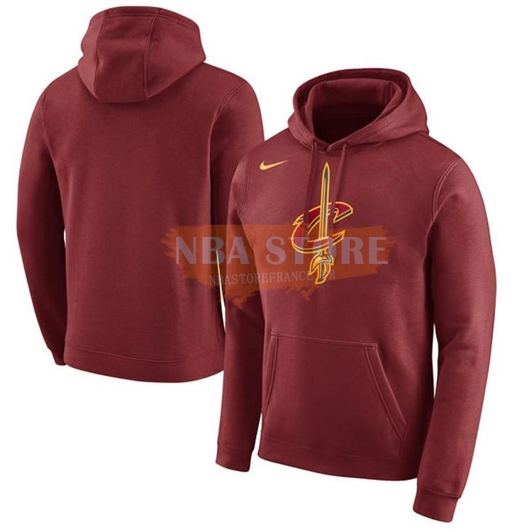 Maglie NBA|Hoodies NBA Cleveland Cavaliers Nike Bordeaux