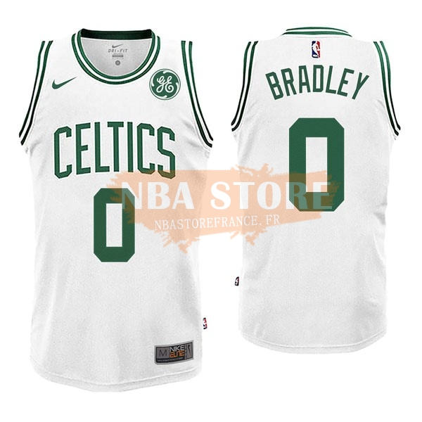 Maillot NBA Boston Celtics NO.0 Avery Bradley Blanc 2017-18