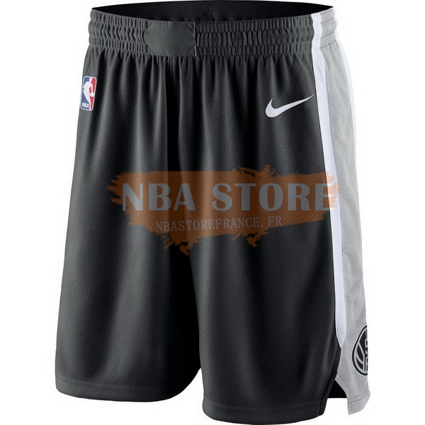 Pantalon Basket Brooklyn Nets Nike Gris
