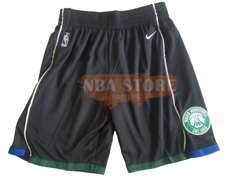 Pantalon Basket Brooklyn Nets Nike Noir