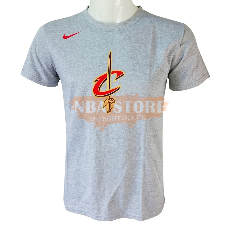 T-Shirt NBA Cleveland Cavaliers Nike Gris