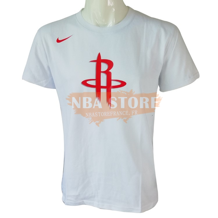 T-Shirt NBA Houston Rockets Nike Blanc