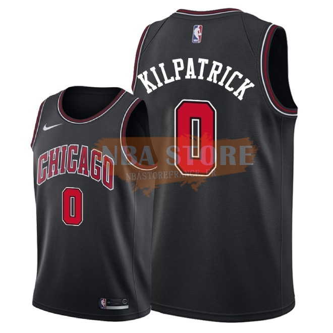 Maillot NBA Nike Chicago Bulls NO.0 Sean Kilpatrick Noir Statement 2018