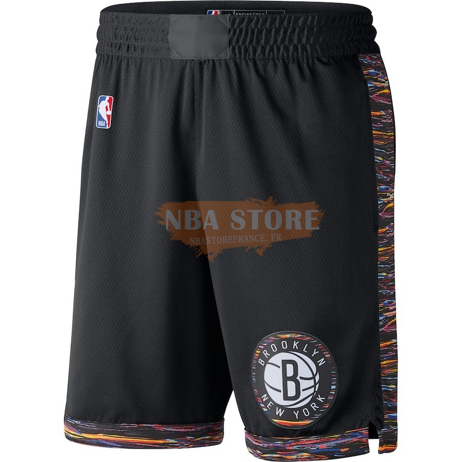 Pantalon Basket Brooklyn Nets Nike Noir Ville 2018-19