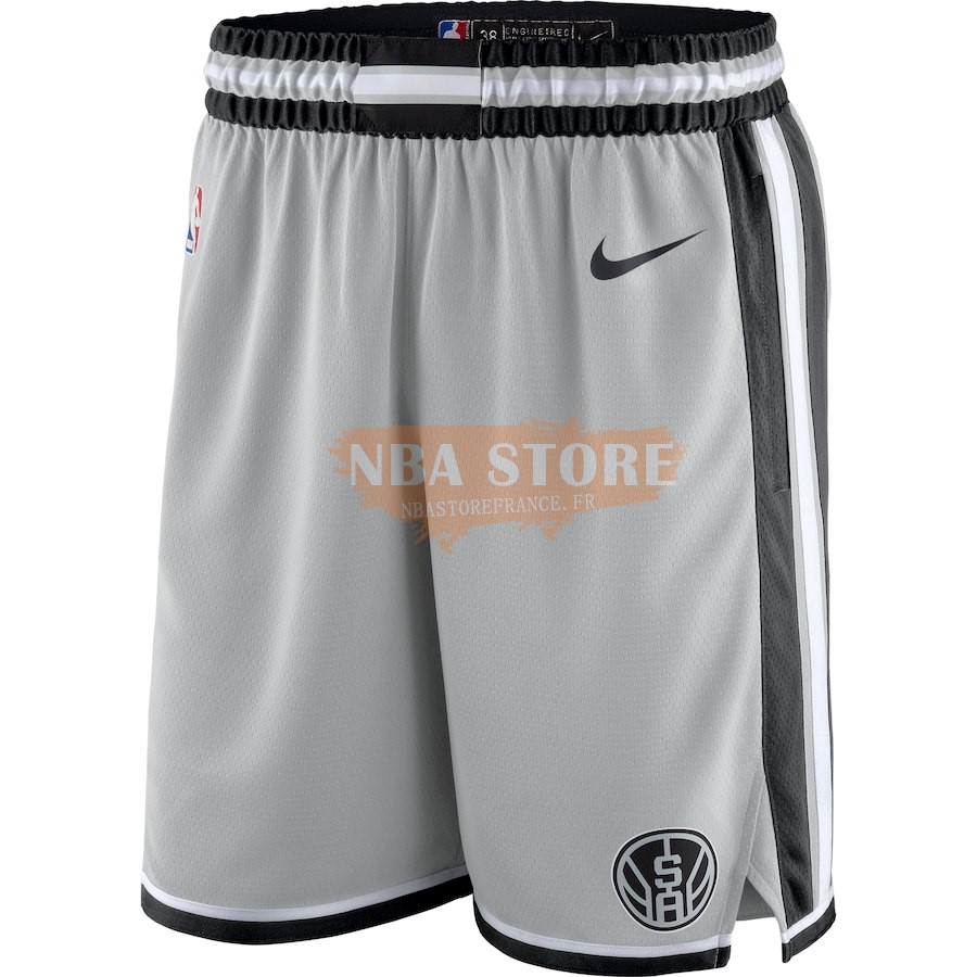 Pantalon Basket San Antonio Spurs Nike Gris Statement 2018