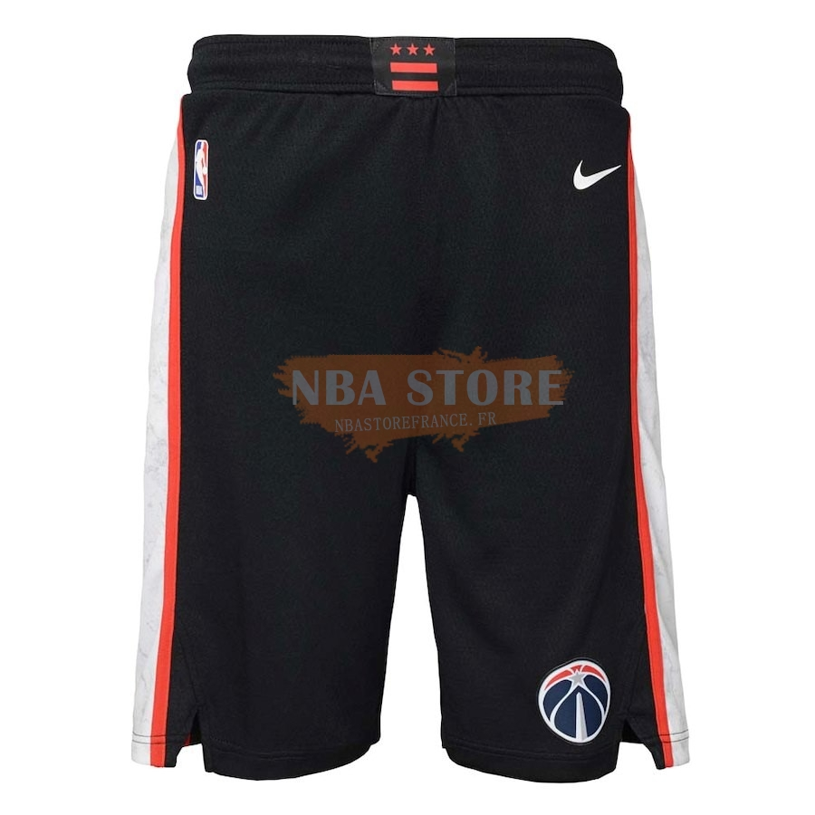 Pantalon Basket Washington Wizards Nike Noir Ville 2018-19