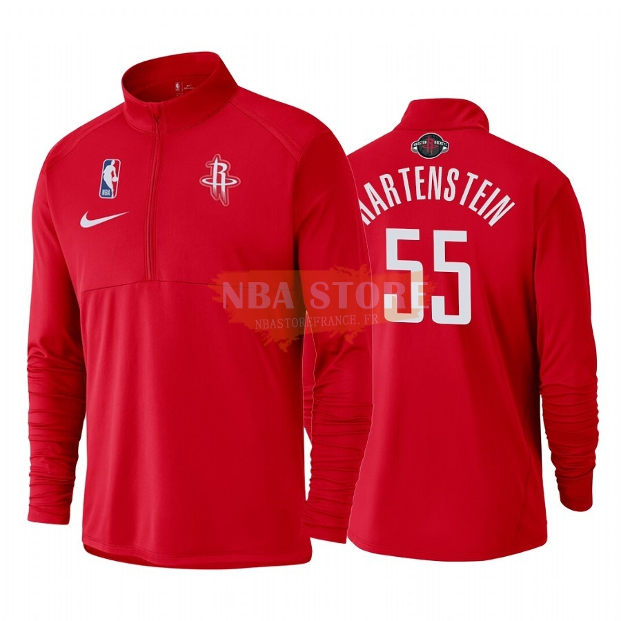 Survetement NBA Houston Rockets NO.55 Isaiah Hartenstein Rouge