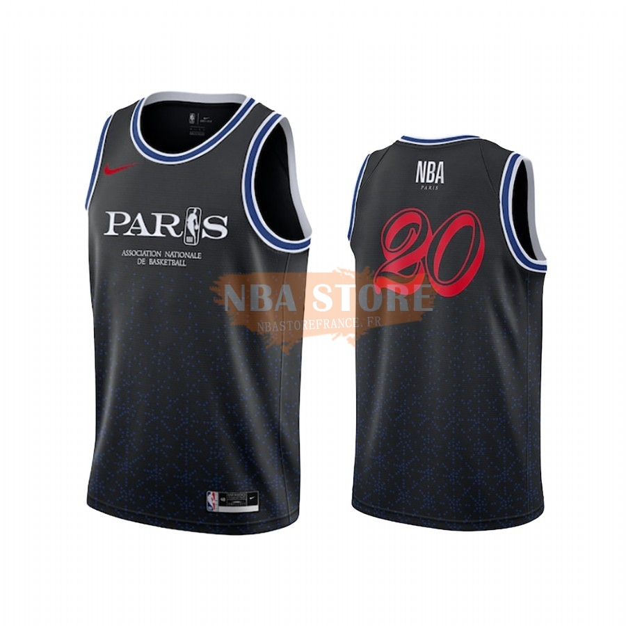 Maillot NBA Paris 2020 NBA Team 31 Noir