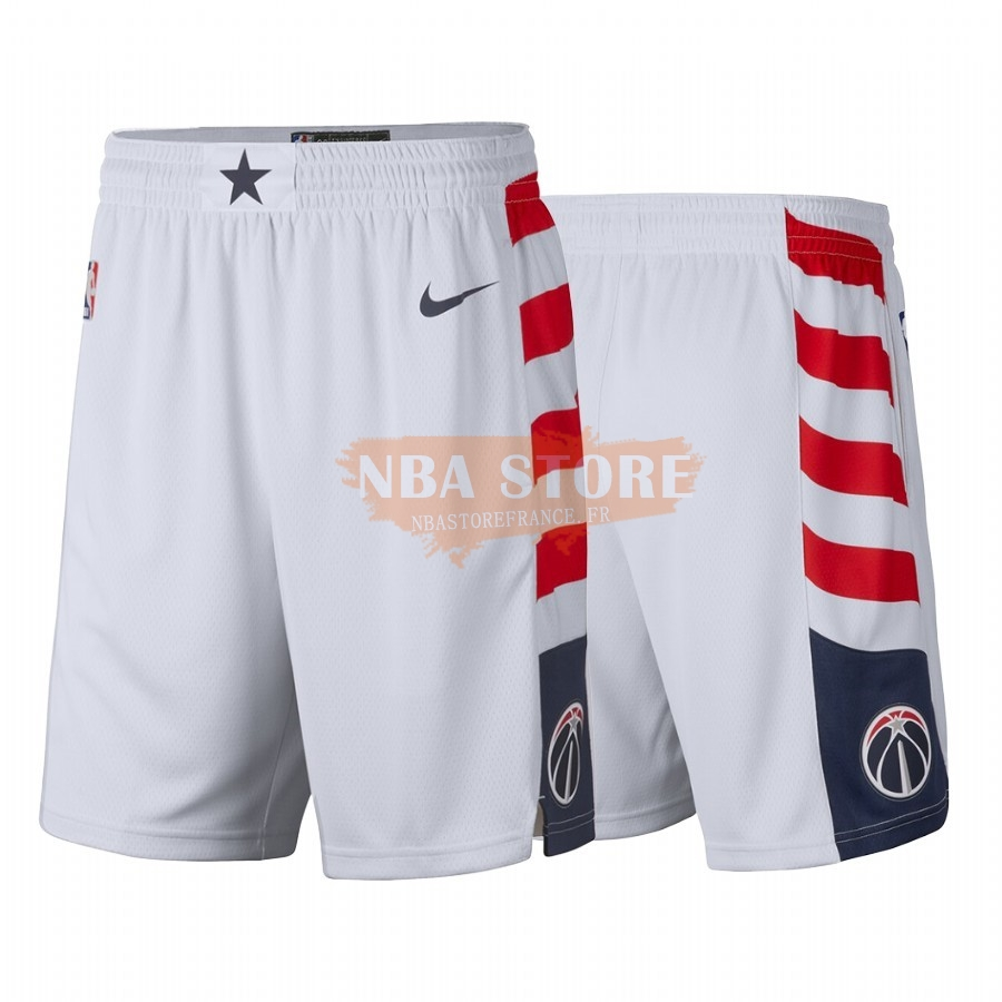 Pantalon Basket Washington Wizards Nike Blanc Ville 2019-20