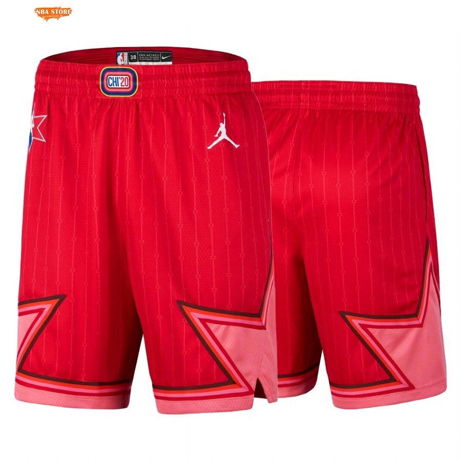 Pantalon Basket 2020 All Star Rouge