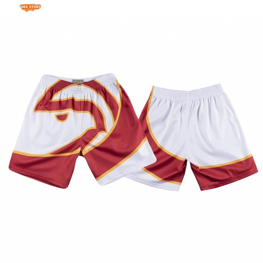 Pantalon Basket Atlanta Hawks Nike Big Face Blanc 2020