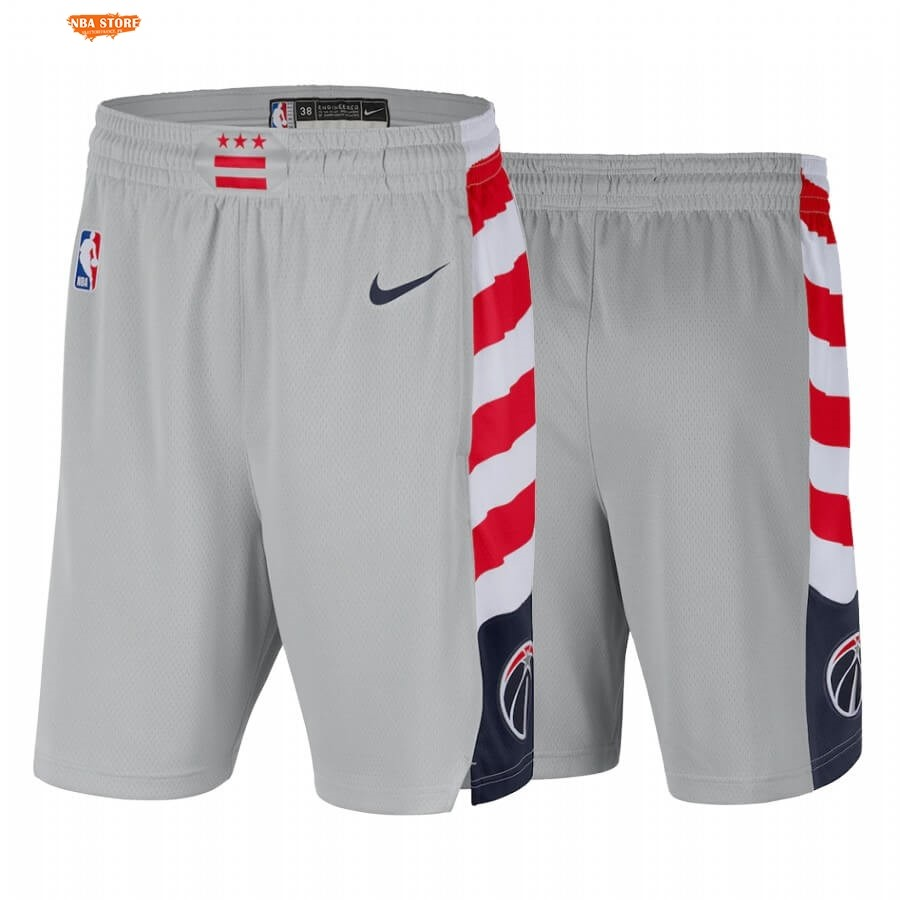 Pantalon Basket Washington Wizards Gris Ville 2020-21