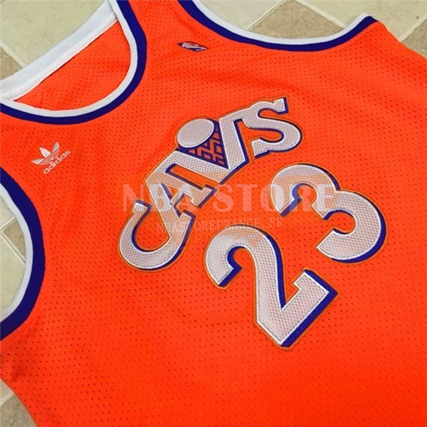 Maillot NBA Cleveland Cavaliers NO.23 LeBron James Orange