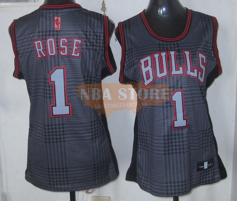Maillot NBA Femme 2013 Static Fashion NO.1 Derrick Rose
