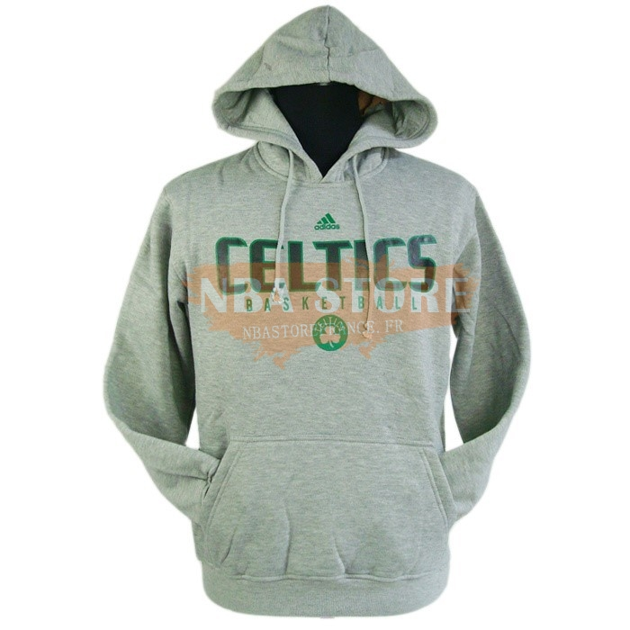 Hoodies NBA 2016 Boston Celtics Gris