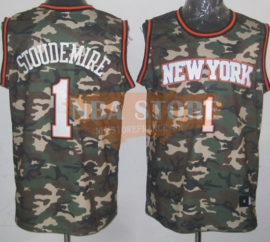 Maillot NBA 2013 Camouflage Fashion NO.1 Stoudemire