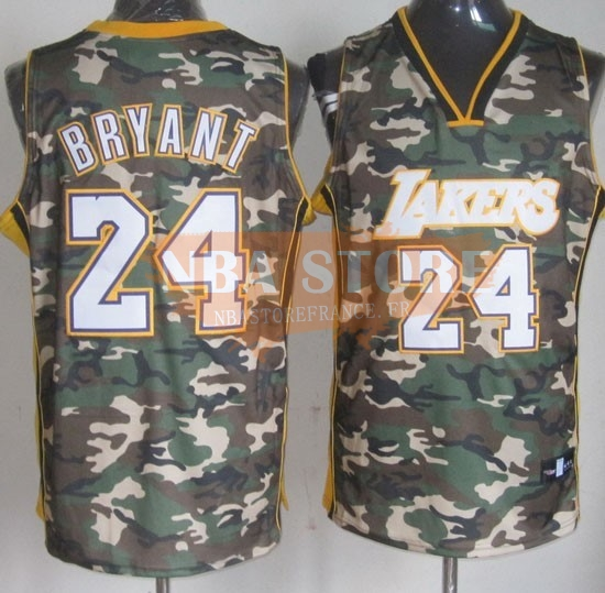 Maillot NBA 2013 Camouflage Fashion NO.24 Bryant
