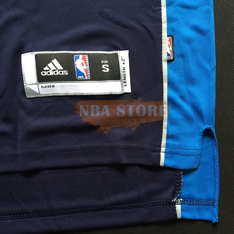 Maillot NBA Dallas Mavericks NO.9 Rajon Rondo Bleu Profond