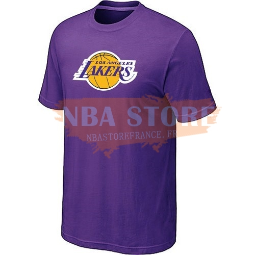 T-Shirt NBA Los Angeles Lakers Pourpre 2017