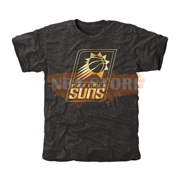 T-Shirt NBA Phoenix Suns Noir Or